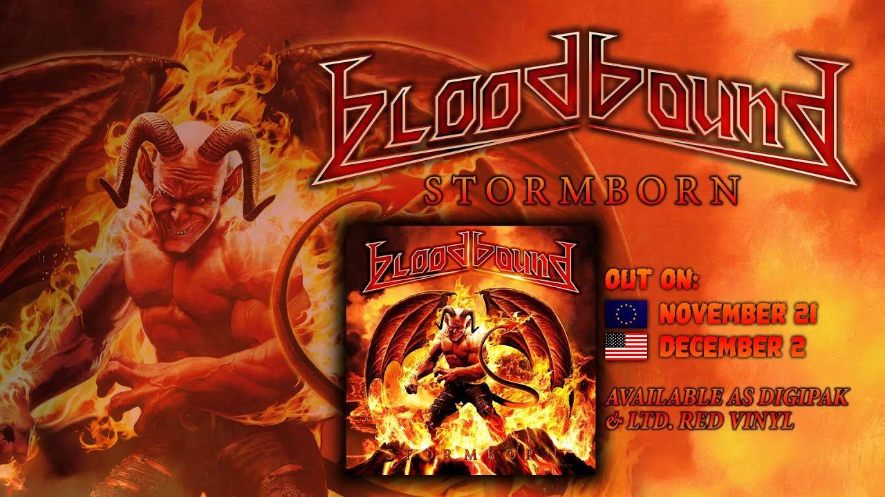 BLOODBOUND - Iron Throne (2014) // official // AFM Records