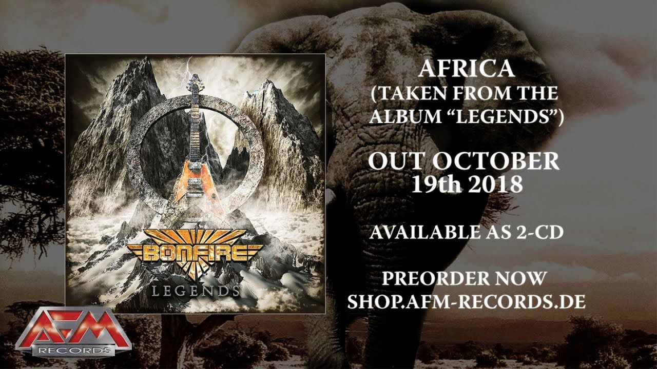 BONFIRE - Africa (2018) // Official Audio Video // AFM Records