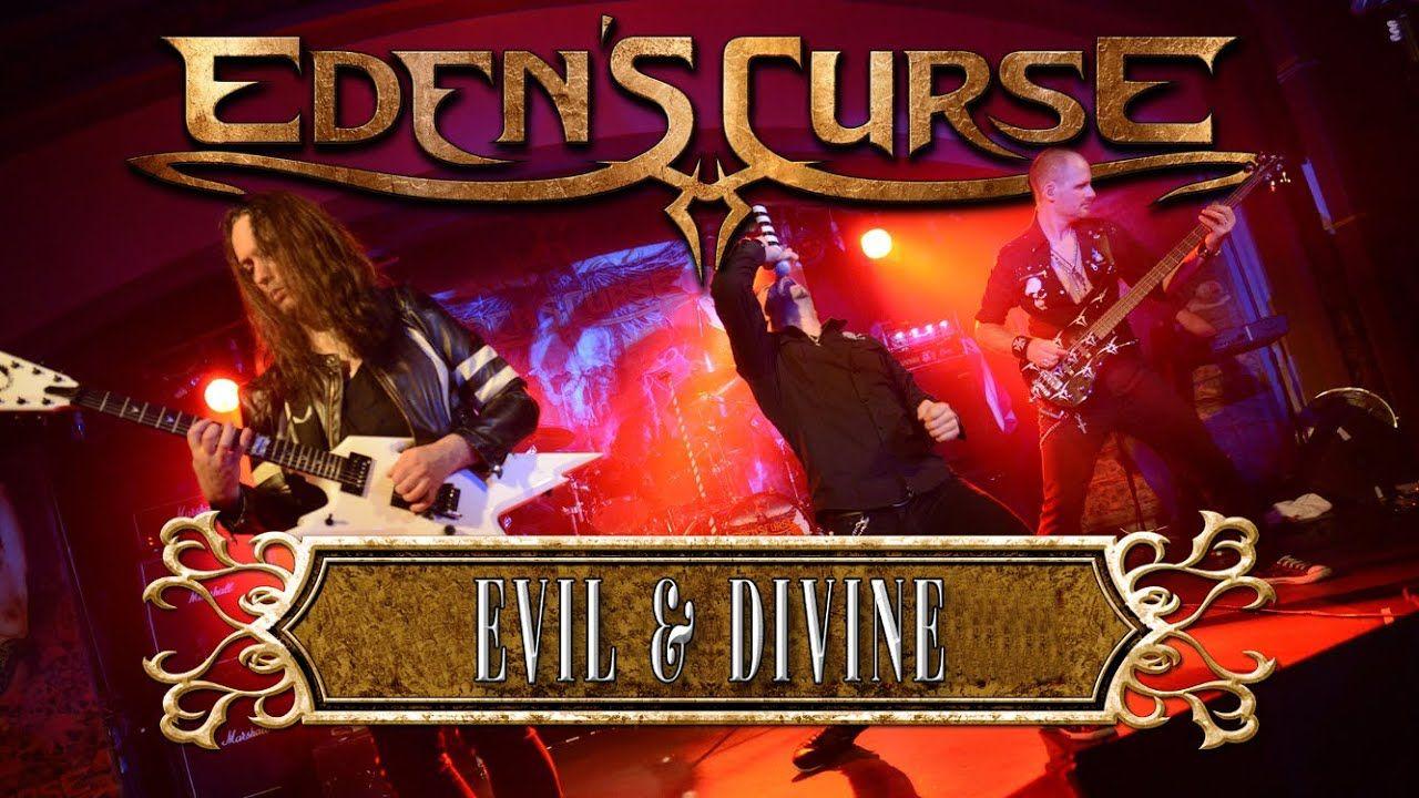 EDEN'S CURSE - Evil & Divine (2015) // official live clip // AFM Records