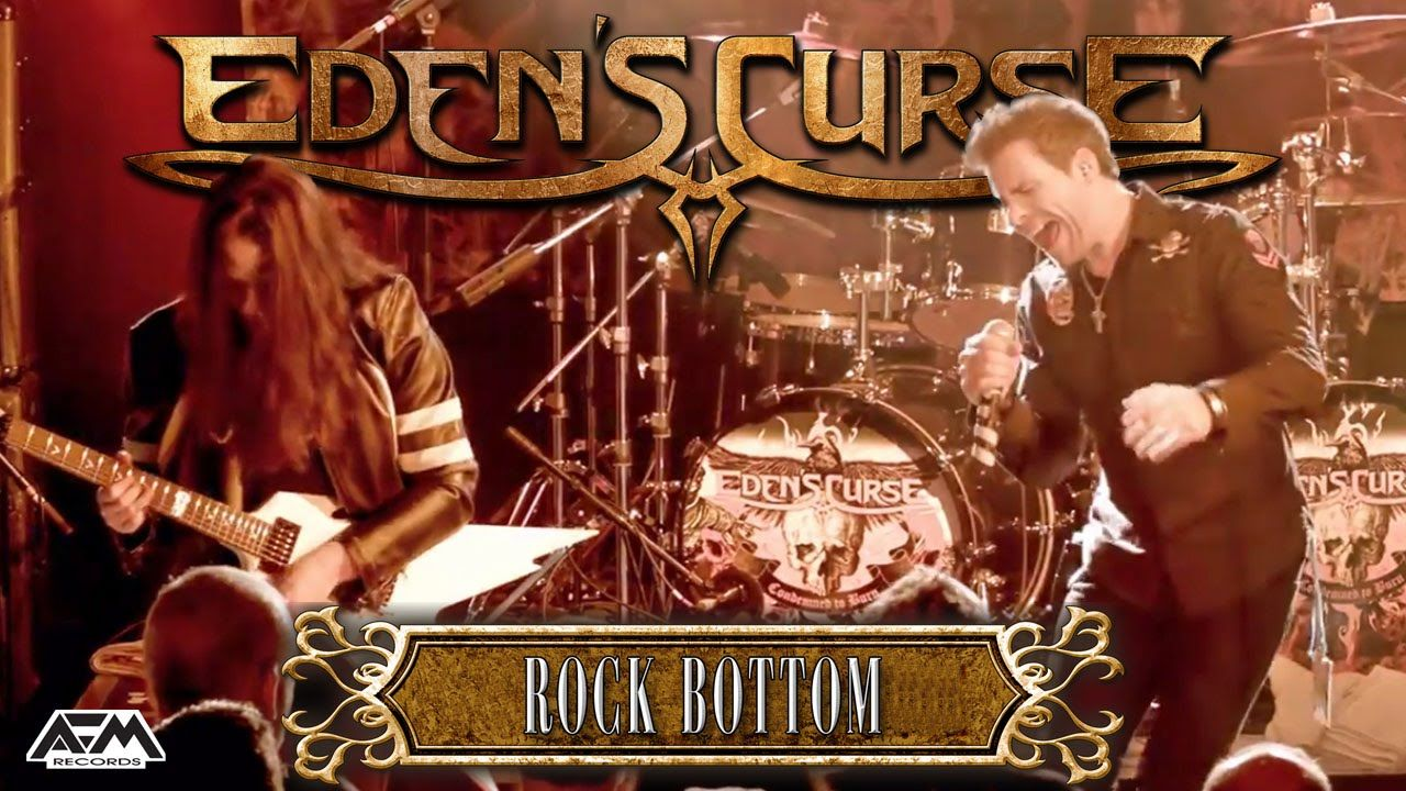 EDEN'S CURSE - Rock Bottom (2015) // official live video // AFM Records