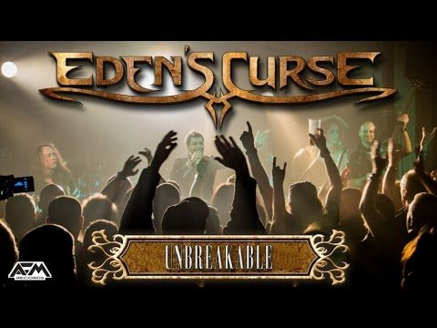 EDEN'S CURSE - Unbreakable (2015) // official live clip // AFM Records