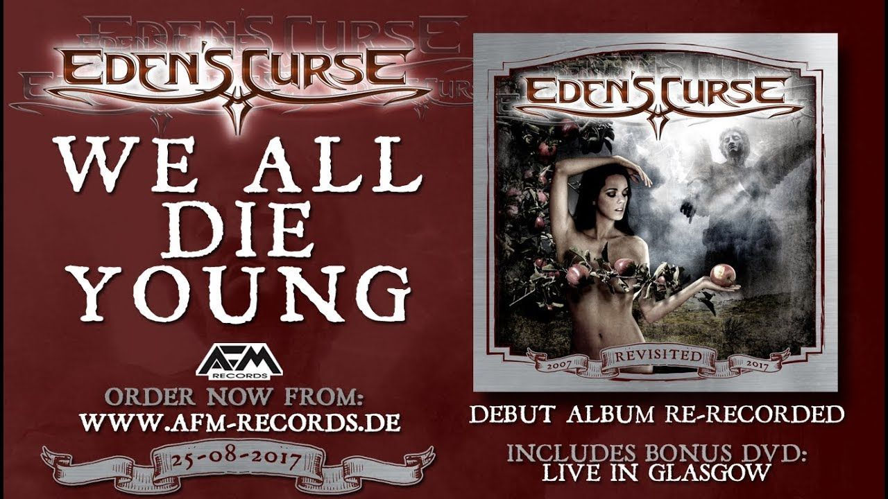 EDEN'S CURSE - We All Die Young (2017 Version) // official audio // AFM Records