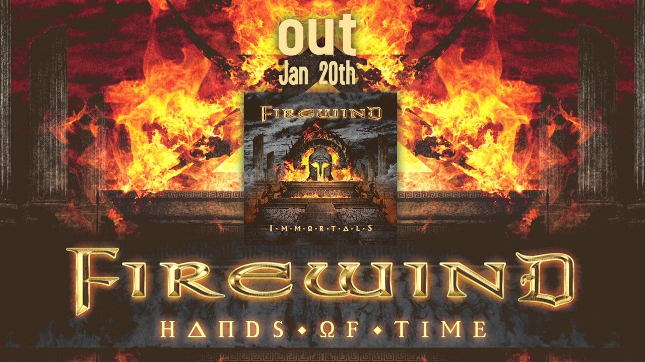 FIREWIND - Hands Of Time (Official Audio)