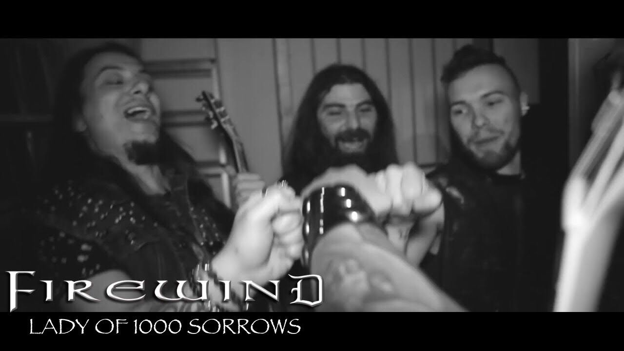 FIREWIND - Lady Of 1000 Sorrows (Official Video)