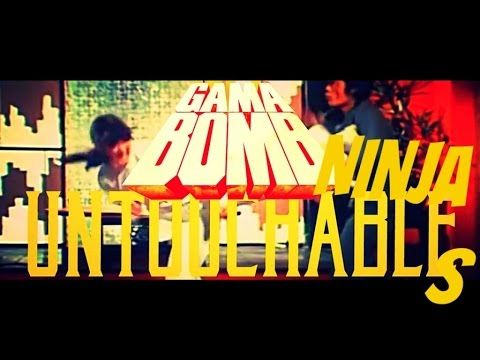 GAMA BOMB - Ninja Untouchables/Untouchable Glory (2015) // official video // AFM Records