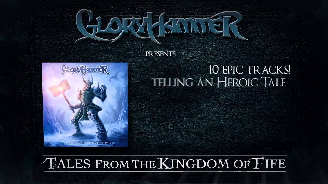 GLORYHAMMER - Quest for the Hammer of Glory (Lyric Video) | Napalm Records
