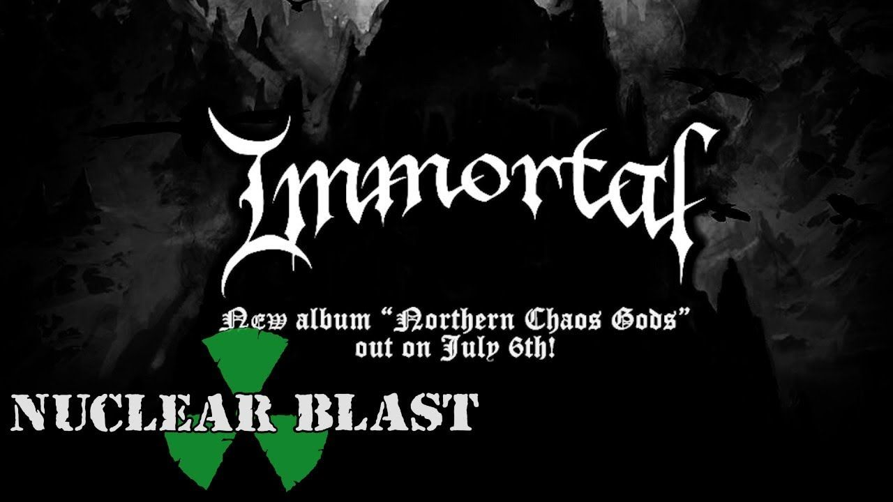 IMMORTAL - Mighty Ravendark (OFFICIAL LYRIC VIDEO)