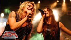 KISSIN' DYNAMITE - Masterpiece (feat. Jennifer Haben) (Live) // official clip // AFM Records