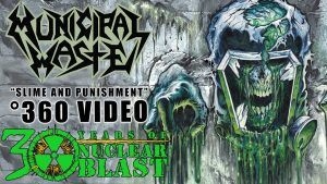 MUNICIPAL WASTE - Slime and Punishment (360 VISUALIZER OFFICIAL VIDEO)