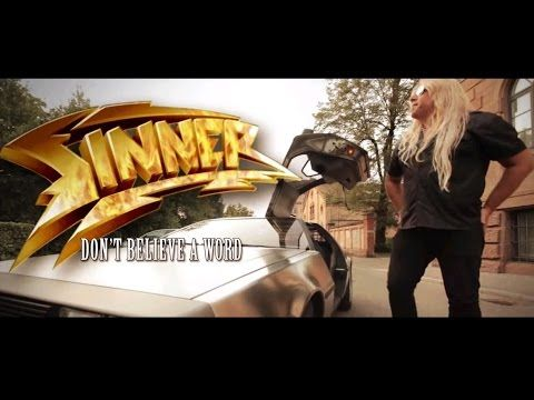 SINNER - Don't Believe A Word (2013) // official clip // AFM Records