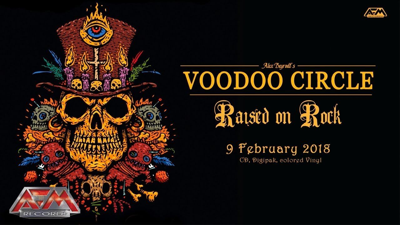 VOODOO CIRCLE - Running Away From Love (2017) // official audio video // AFM Records